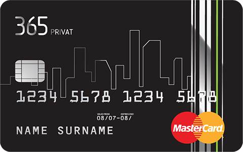 365 Privat MasterCard